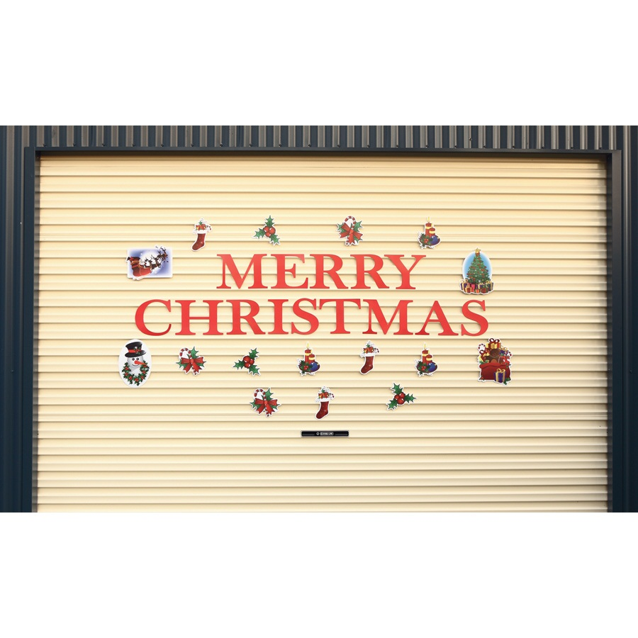Christmas Garage Door Magnets 30 PCS