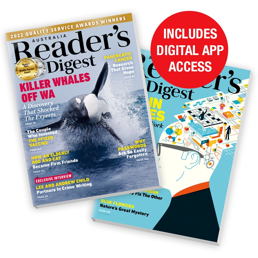 Readers Digest 3 issues subscription