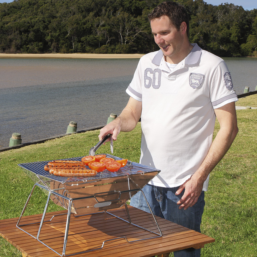 S/S BBQ with Carry Bag