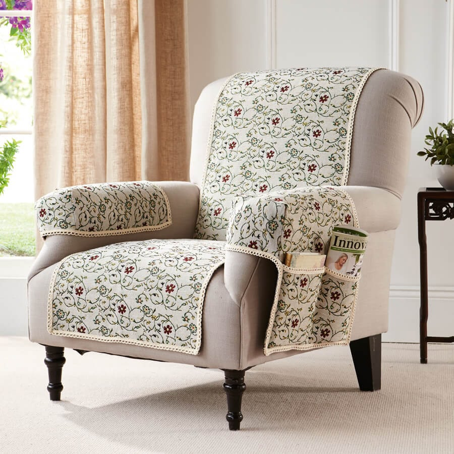 Tapestry Chair Cover  Armchair
