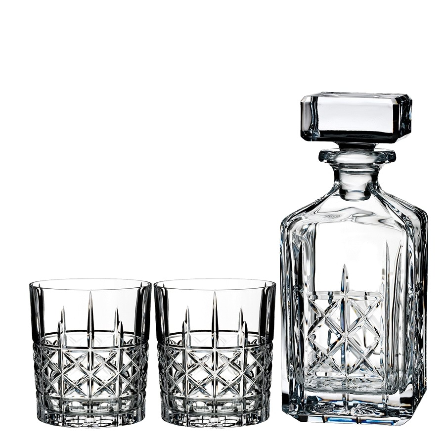 Waterford Marquis Brady Crystalware  Decanter Set