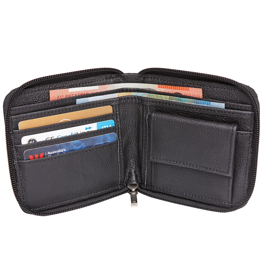 Zipped Safety Wallet