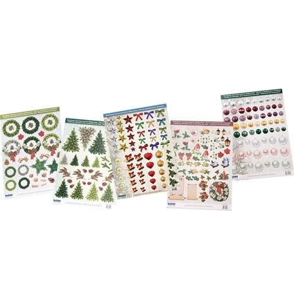 3D Christmas Decoupage Pack