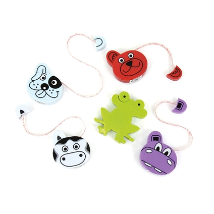Animal Tape Measures 5-Pack
