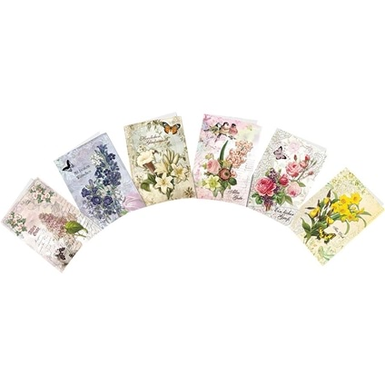 Wildflowers 1 - 3D Greeting Card Kit
