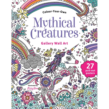 Colour Your Own Mythical Creatures