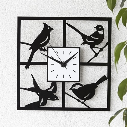Bird Decoration Clock