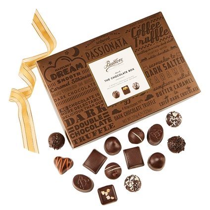 205g Butlers Dark Chocolate Box Collection