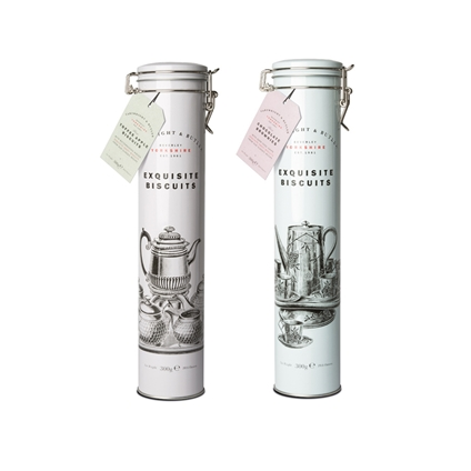 Cartright & Butler Tall Biscuit Tins