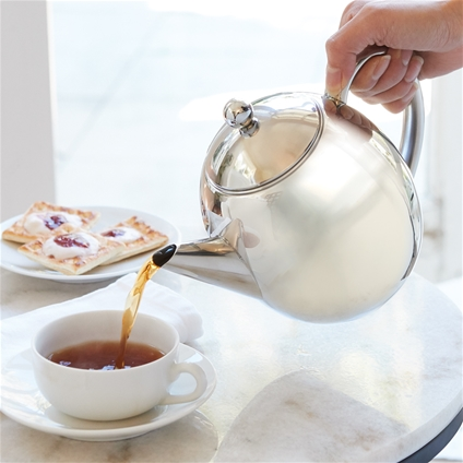 Double Wall Thermal Teapot