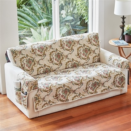 Floral Scroll Furniture Cover Sets
