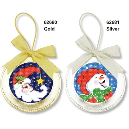 Christmas Leather Ornaments