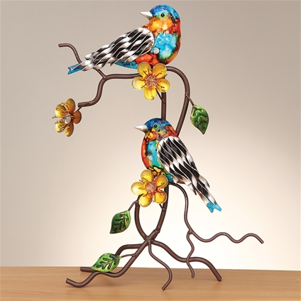 Metal Crafted Birds