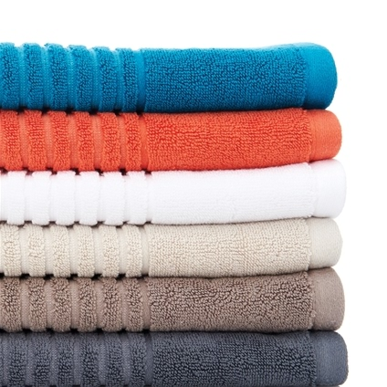 Ribbed Egyptian Cotton Towel Range