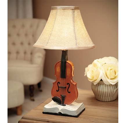 Violin Decoration Lamp